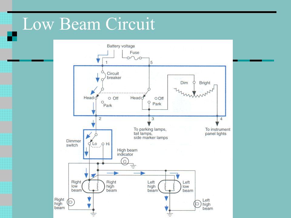Low Beam Circuit