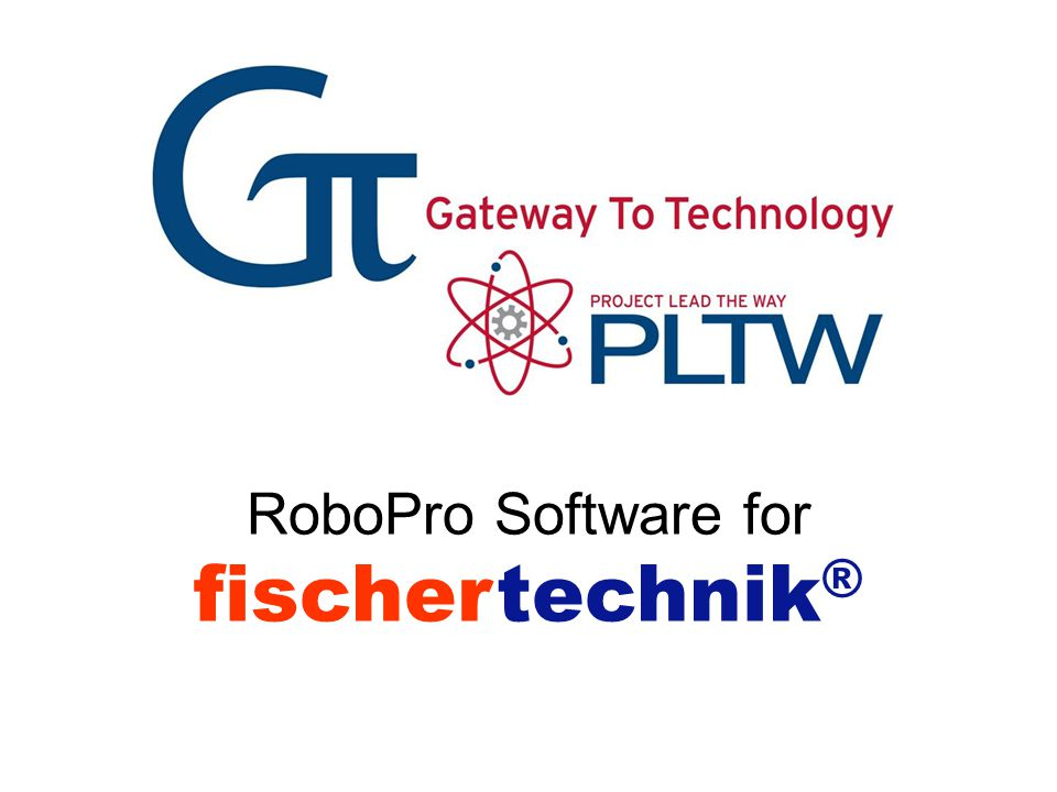 RoboPro Software for fischertechnik ®