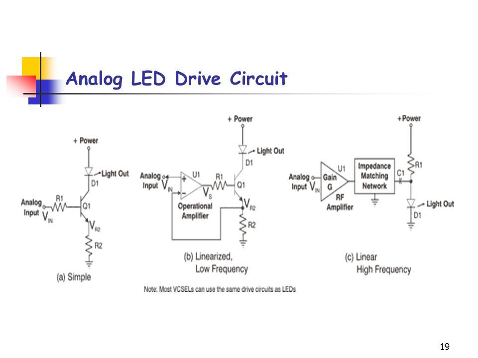 19 Analog LED Drive Circuit