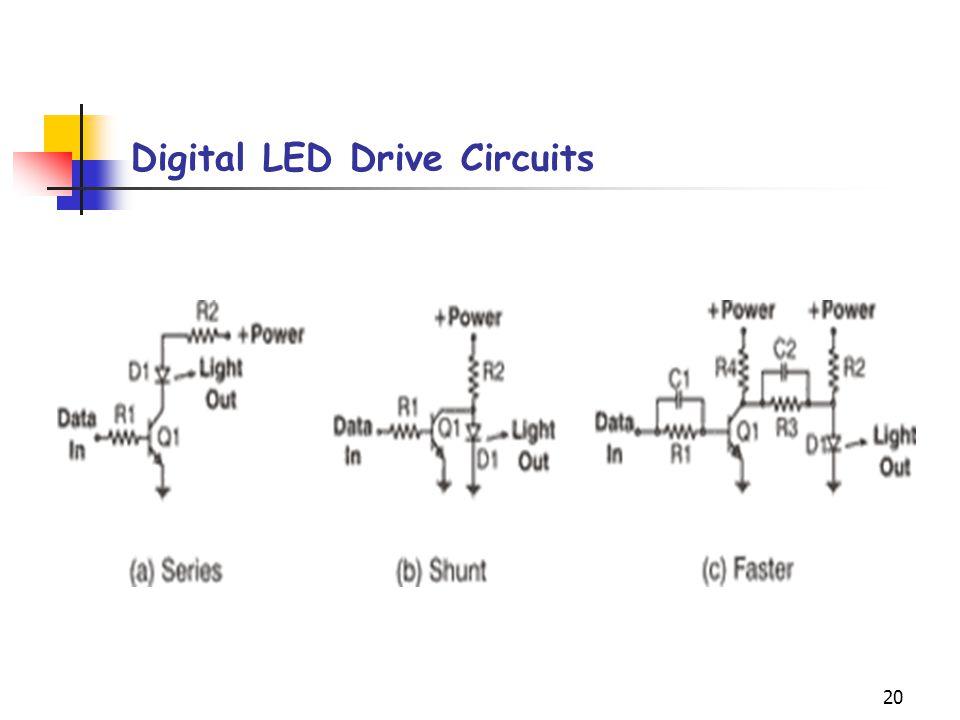 20 Digital LED Drive Circuits