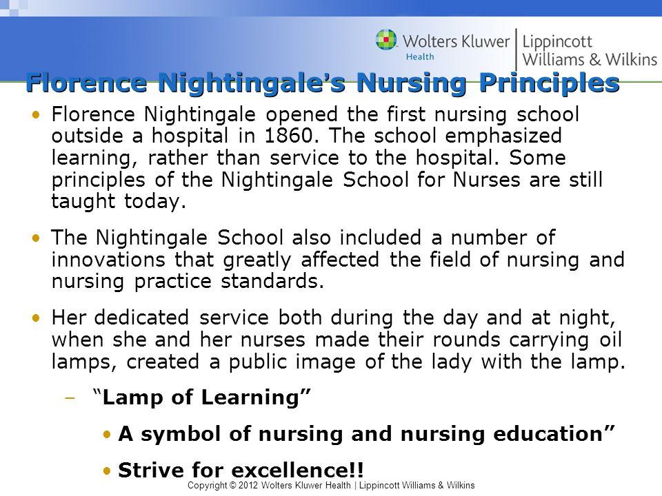 Copyright © 2012 Wolters Kluwer Health | Lippincott Williams & Wilkins Nightingale Lamp