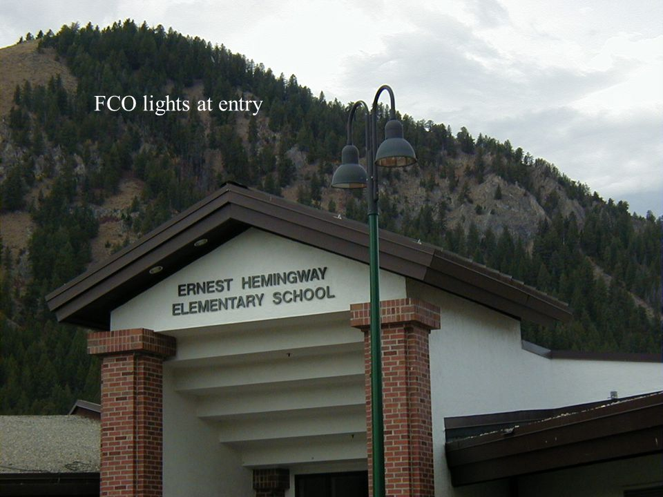 FCO lights at entry