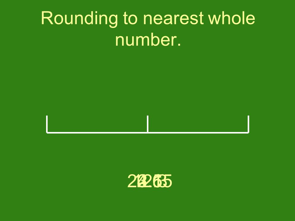 Rounding to nearest whole number. 2.13.64.512.324.15