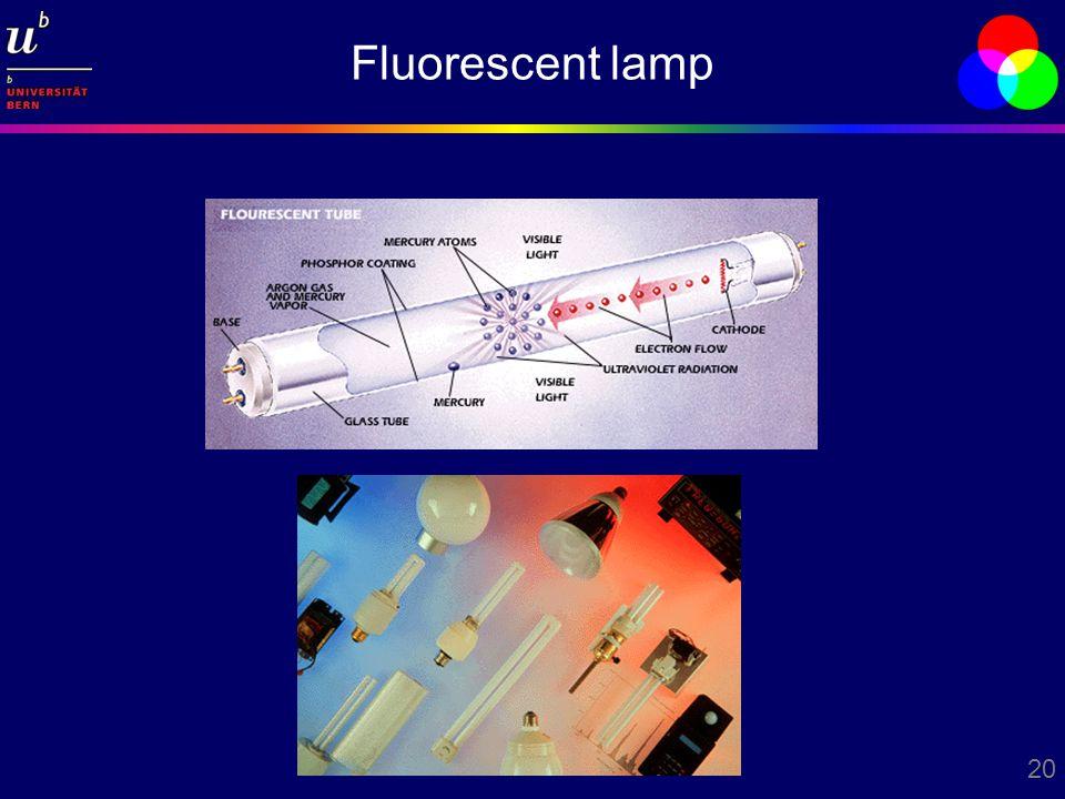 20 Fluorescent lamp
