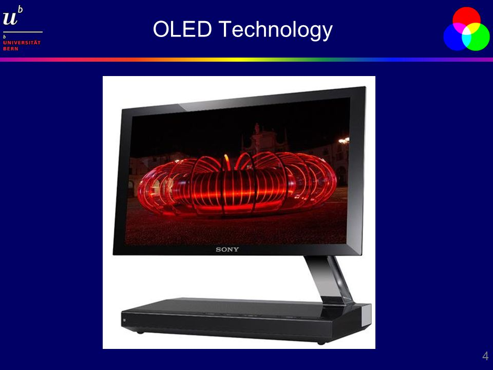 4 OLED Technology