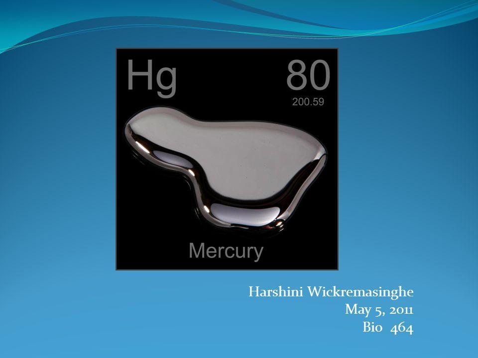 Harshini Wickremasinghe May 5, 2011 Bio 464