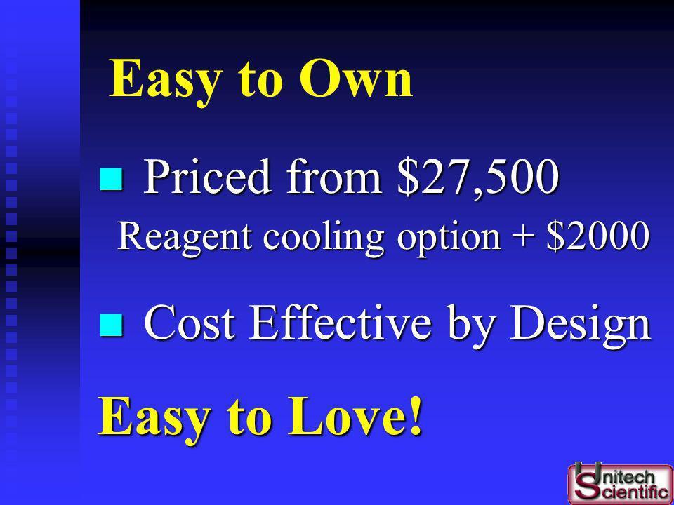 Warranty 1-year Parts & Labor 1-year Parts & Labor E xtended W arranty available E xtended W arranty available 6-Month Preventative Maintenance 6-Mont