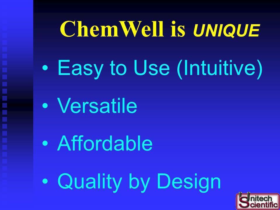 Lock & Key ChemWell Applications G/F L-Malic AmmoniaPAN L-Arg/AmmAcetic Acid Total Phenols by Folin & Ciocalteus Color, & Hue 420/520nm ratios Histami