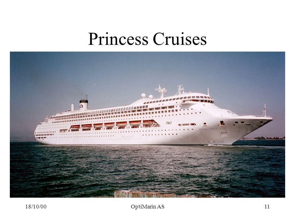18/10/00OptiMarin AS11 Princess Cruises