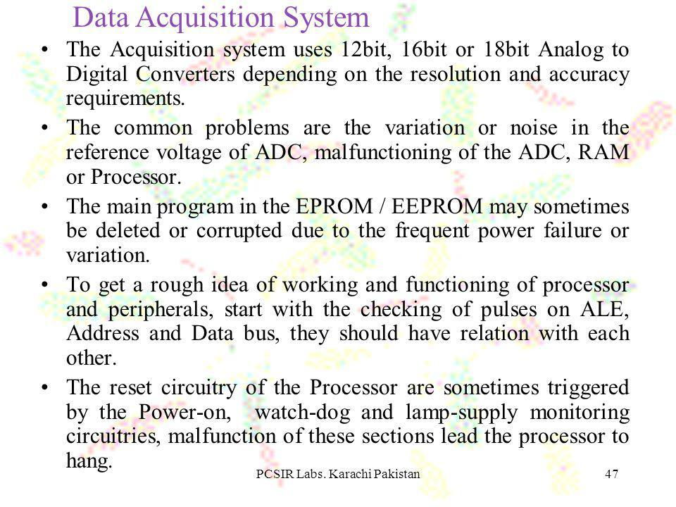PCSIR Labs. Karachi Pakistan48 Detector + _