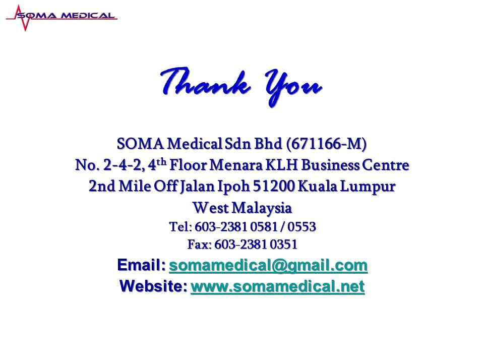 SOMA Medical Sdn Bhd (671166-M) No.