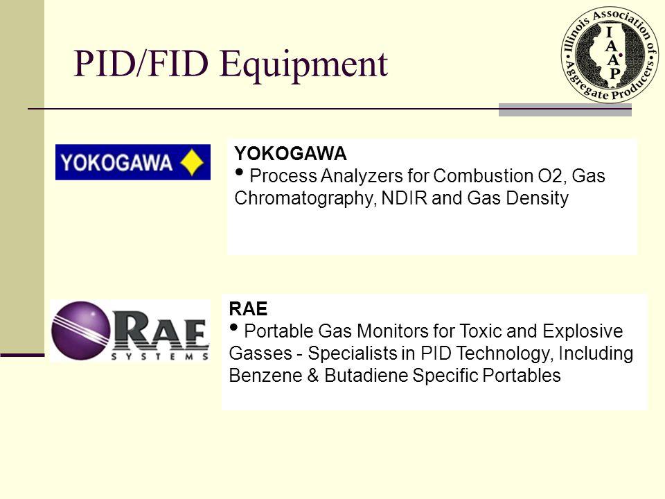 Internal Packaging PID/FID Equipment