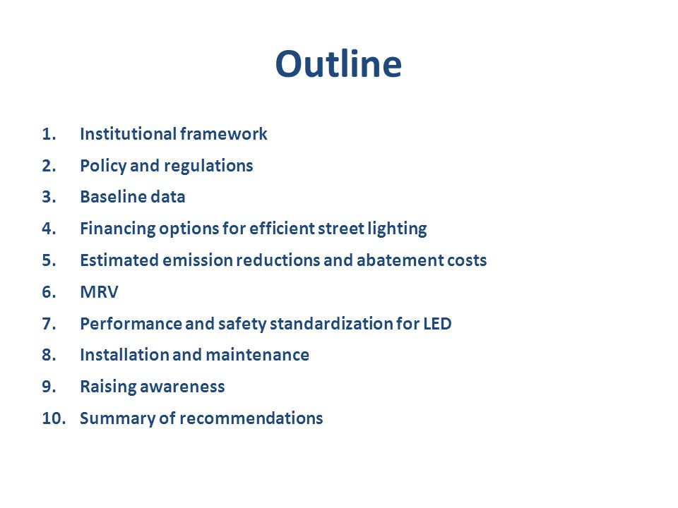 Policy and regulations Current billing/cost recovery mechanism