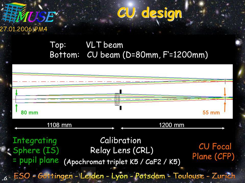 27.01.2006, PM4.7 546 nm 436 nm 707 nm 480 nm 644 nm pupil polychrom.