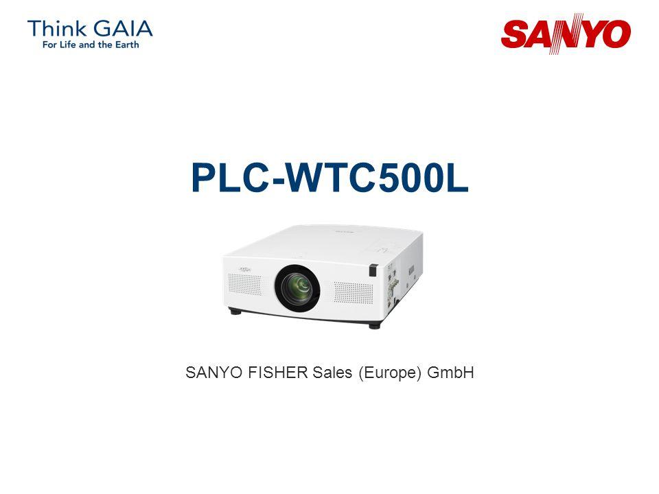PLC-WTC500L SANYO FISHER Sales (Europe) GmbH