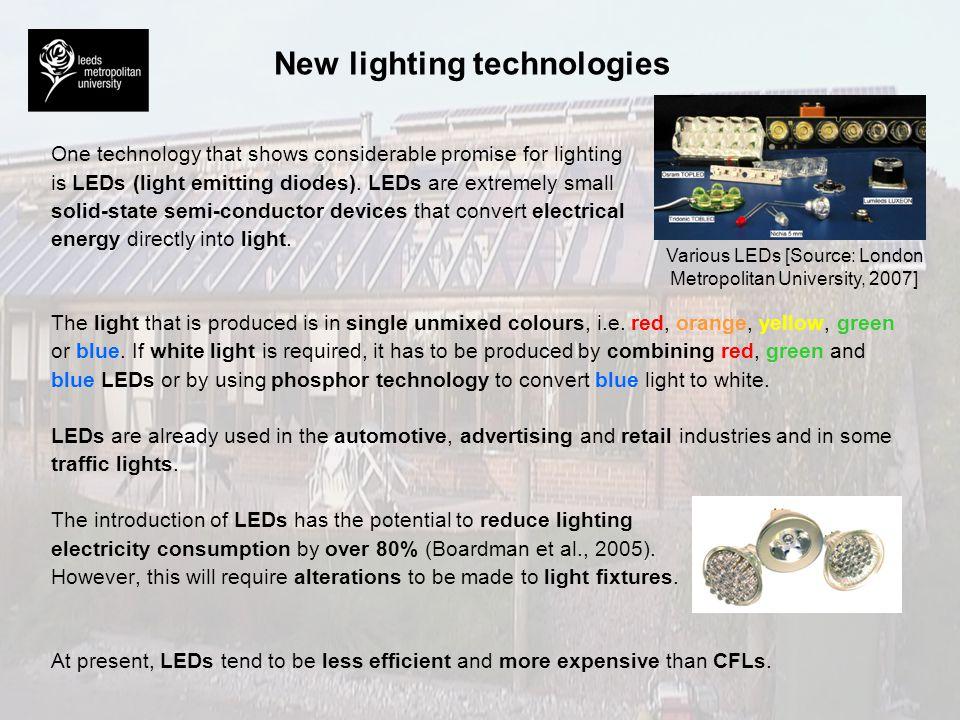 Artificial lighting BRE Environmental Building.