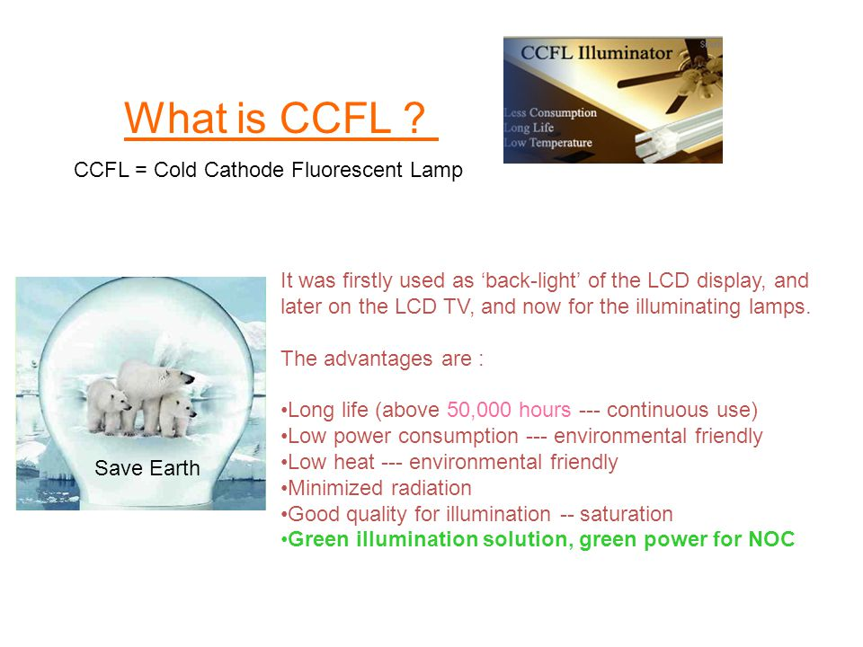 What is CCFL .