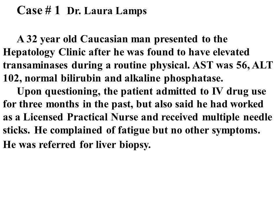 Case # 1 Dr.