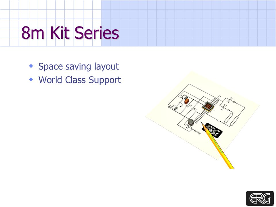 8m Kit Series Space saving layout World Class Support