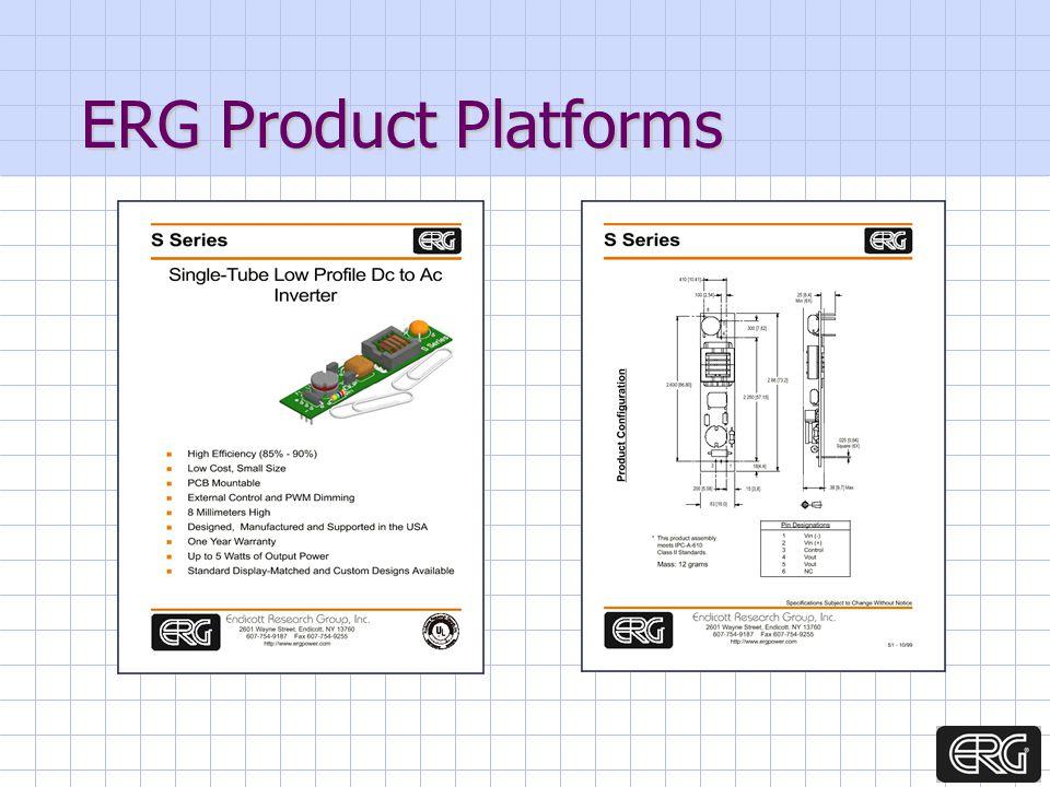 ERG Product Platforms