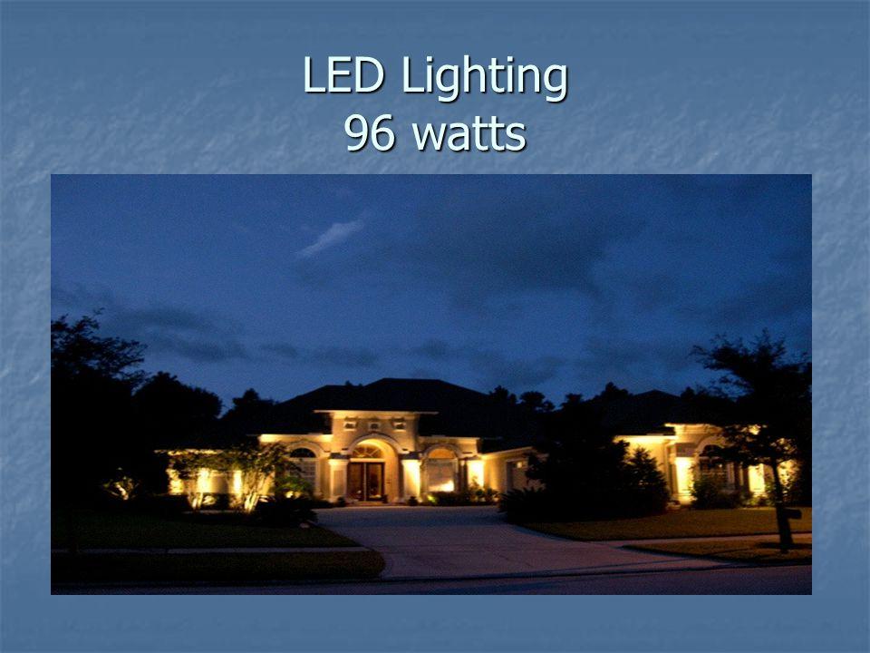 LED Lighting 96 watts