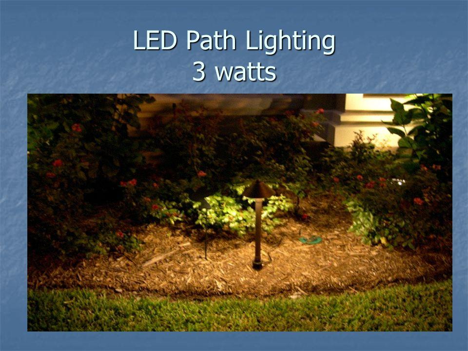 LED Path Lighting 3 watts
