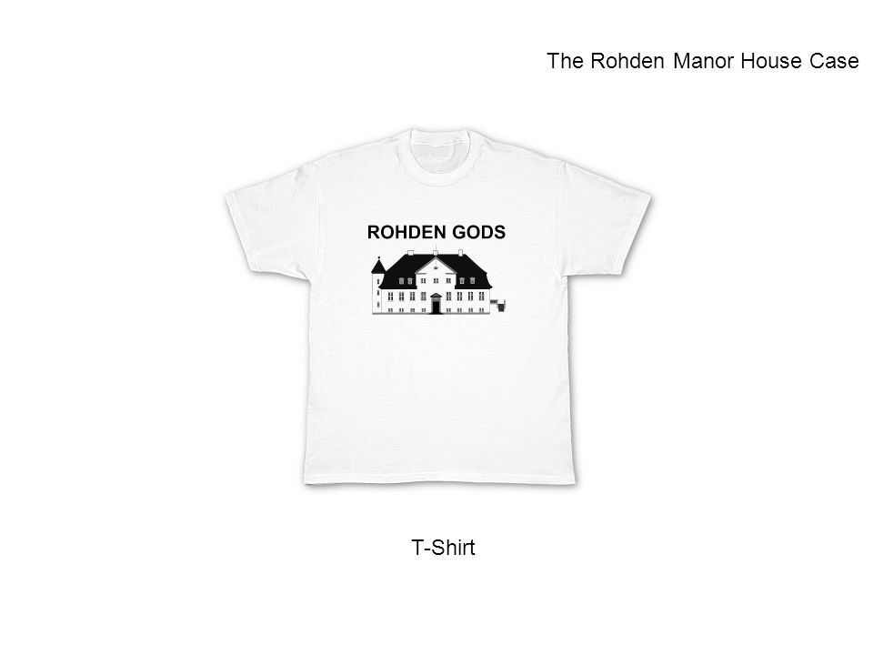 T-Shirt The Rohden Manor House Case