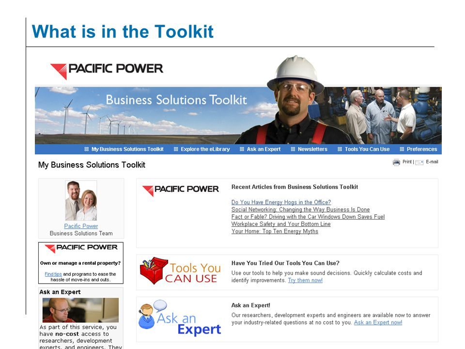 36 What is in the Toolkit