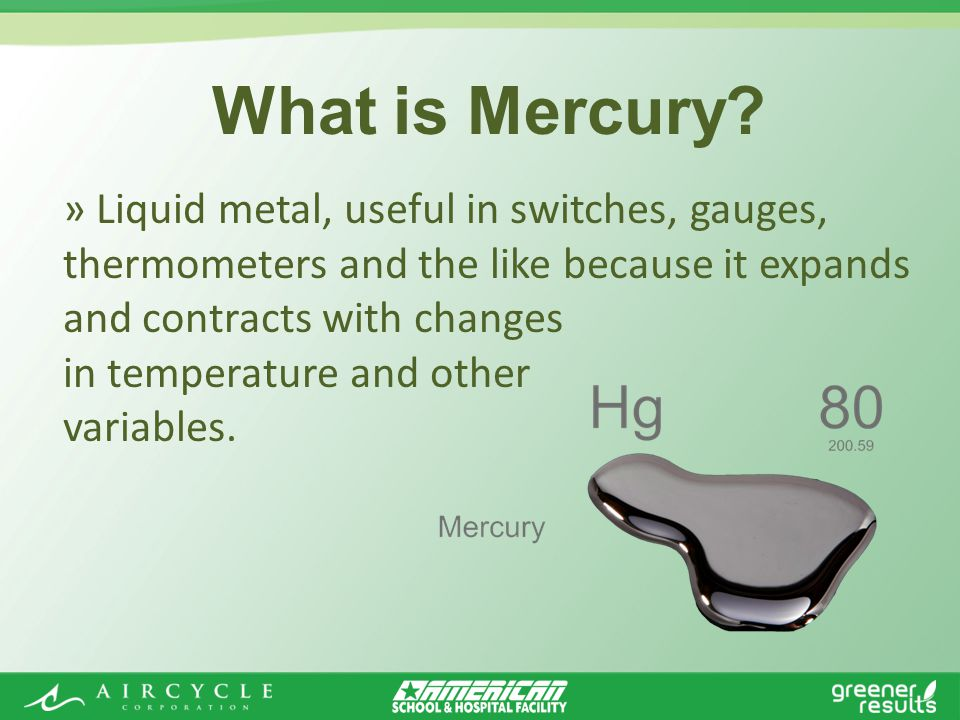 What is Mercury.