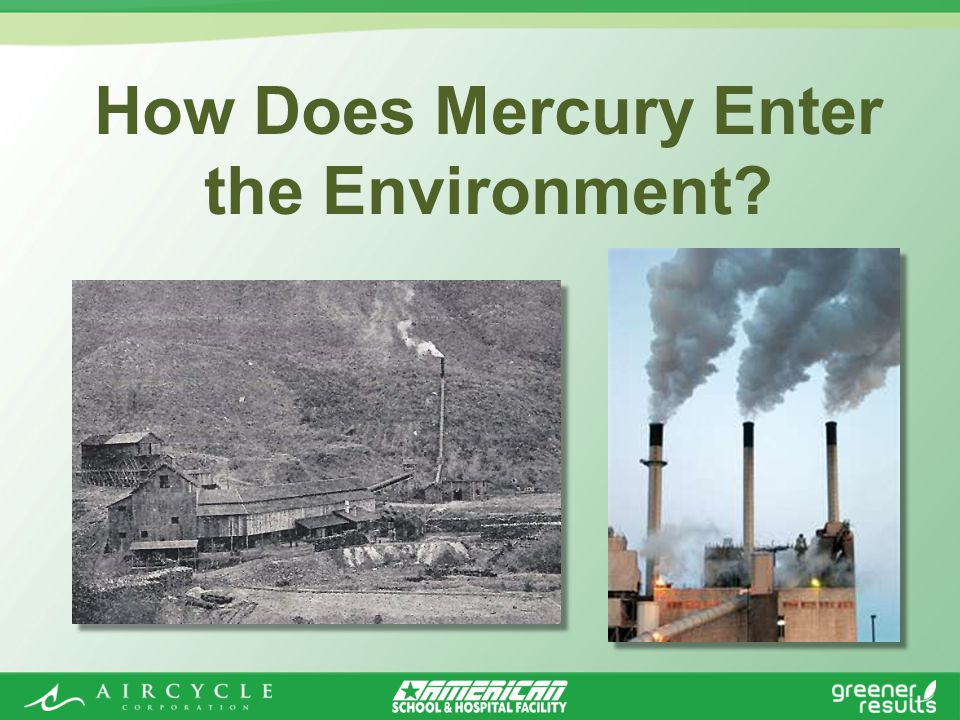 How Does Mercury Enter the Environment