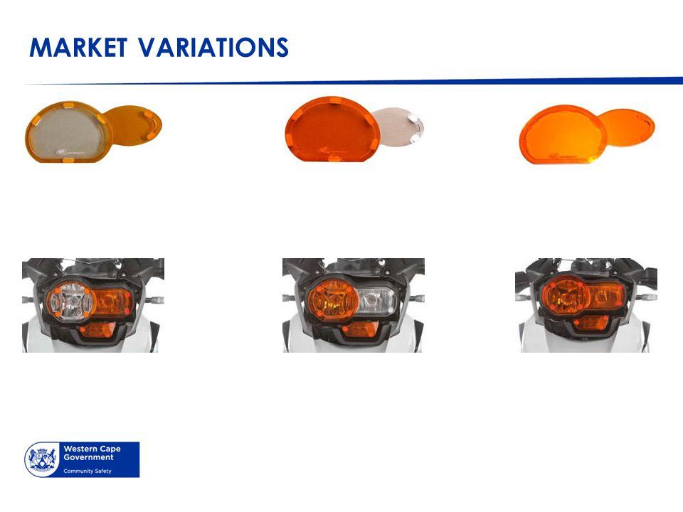 MARKET VARIATIONS