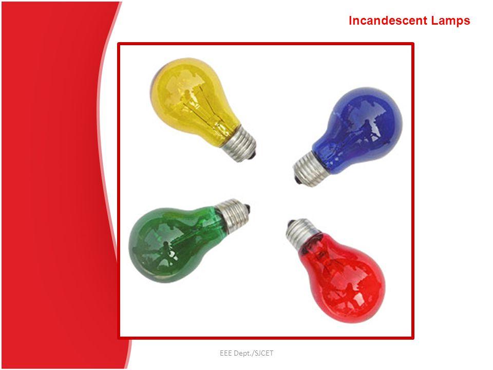 EEE Dept./SJCET Fluorescent Lamps