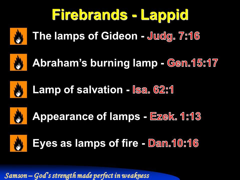 Firebrands - Lappid
