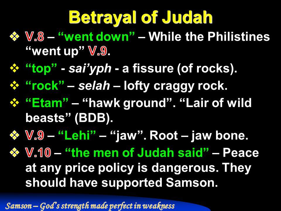 Betrayal of Judah