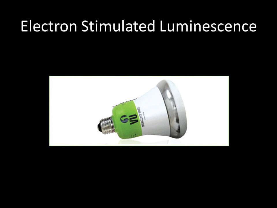 Electron Stimulated Luminescence