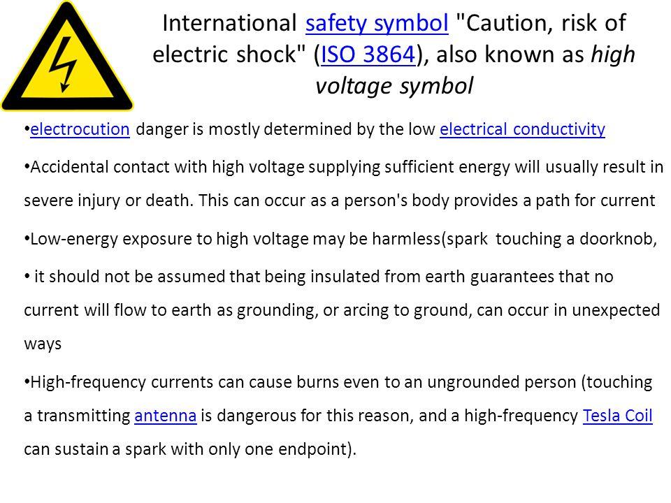 International safety symbol
