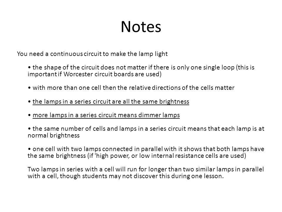 Circuit symbols & diagrams