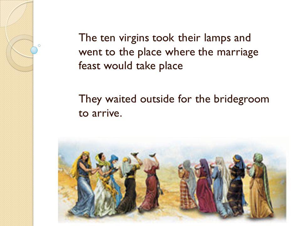 Who is the bridegroom?