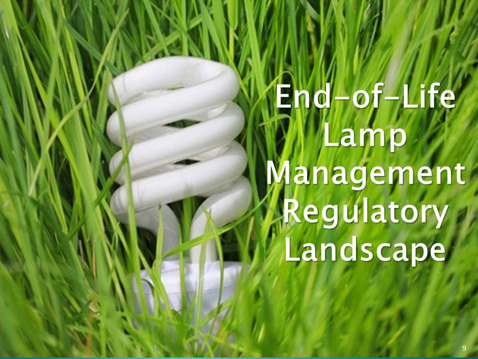 End-of-Life Lamp Management Regulatory Landscape 9