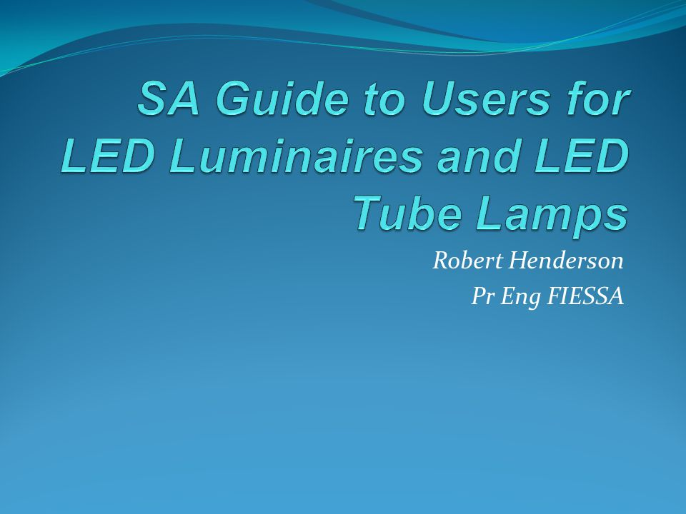 LED modules – replaceable?