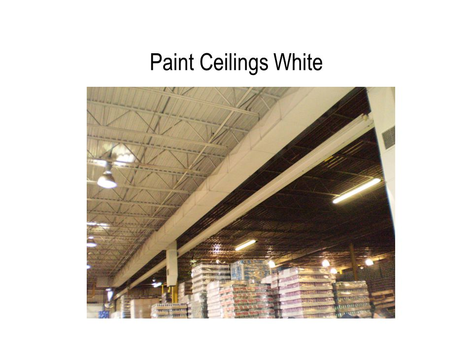 Paint Ceilings White