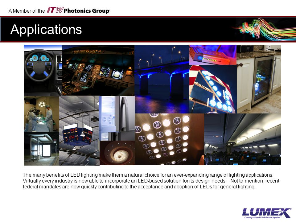 A Member of the LEDs are the most widely varying type of lighting solution in the market today.