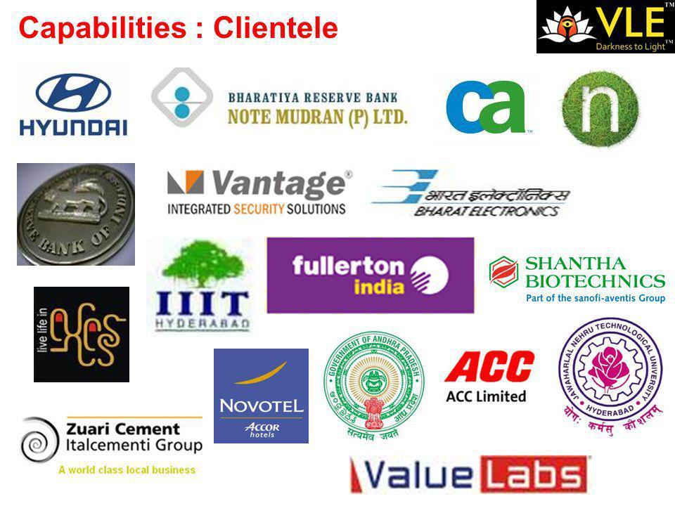 Capabilities : Clientele