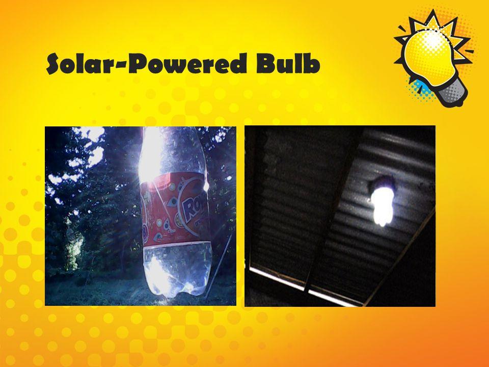 Solar-Powered Bulb