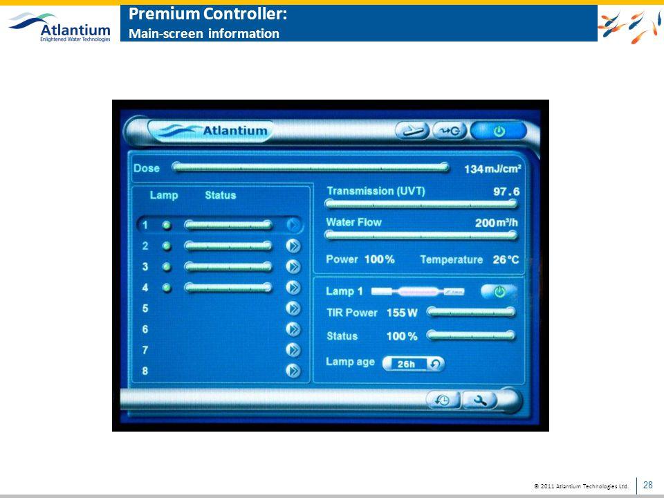 © 2011 Atlantium Technologies Ltd. Atlantium PC software: Data-logging and events 29