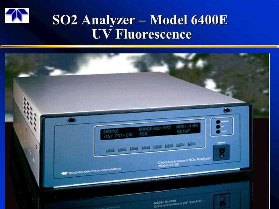 SO2 Analyzer – Model 6400E UV Fluorescence 3