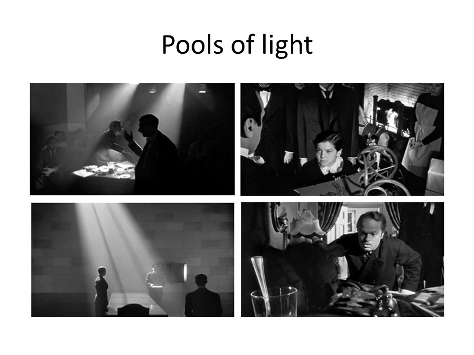 Pools of light