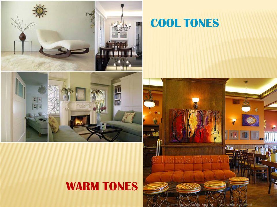 COOL TONES WARM TONES
