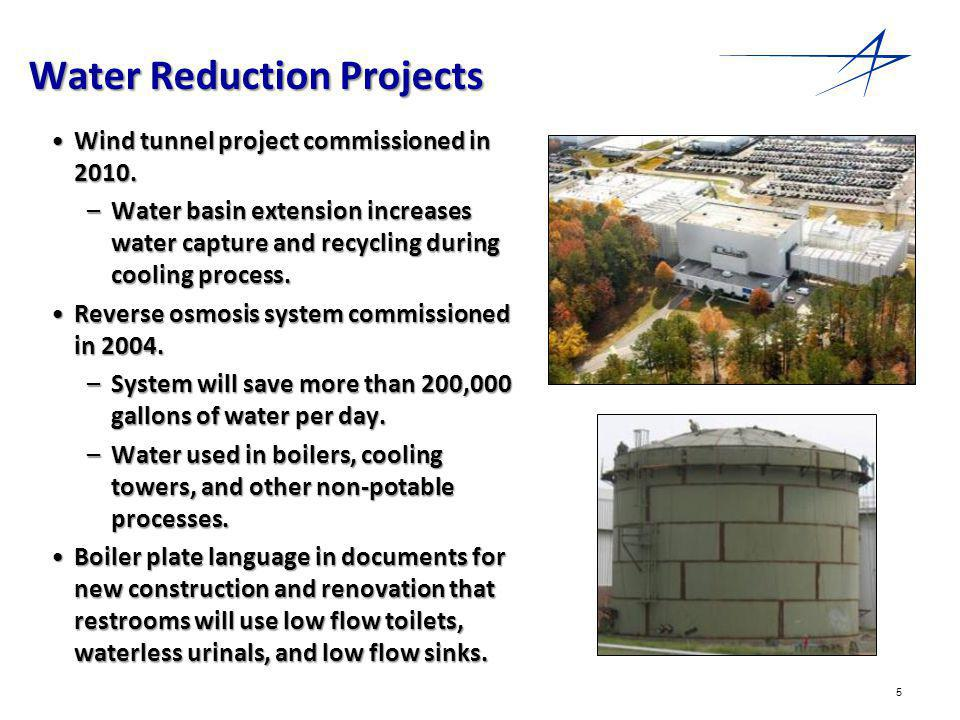 6 Carbon Reduction Projects 6 phases to be completed by 2012.6 phases to be completed by 2012.