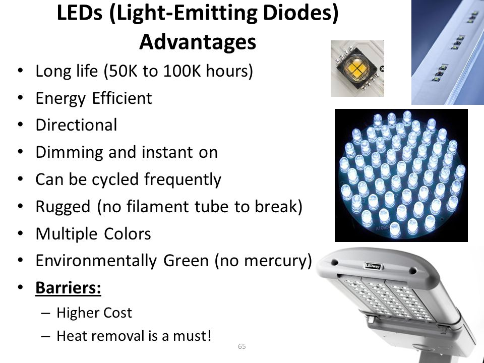 Light Emitting Diodes (LED) Latest Lighting Technology.